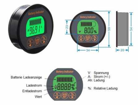 Batterieanzeige KA80